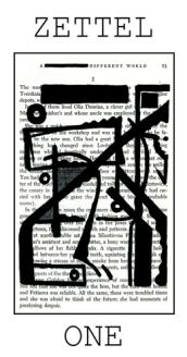 Zettel, Issue One. $14 + shipping.