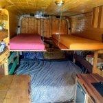 Diy Family Campervan Floating Bunk Beds Undercover Hippy Bus
