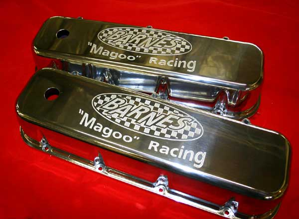 Custom Engraved Valve Covers - Undercover Innovations