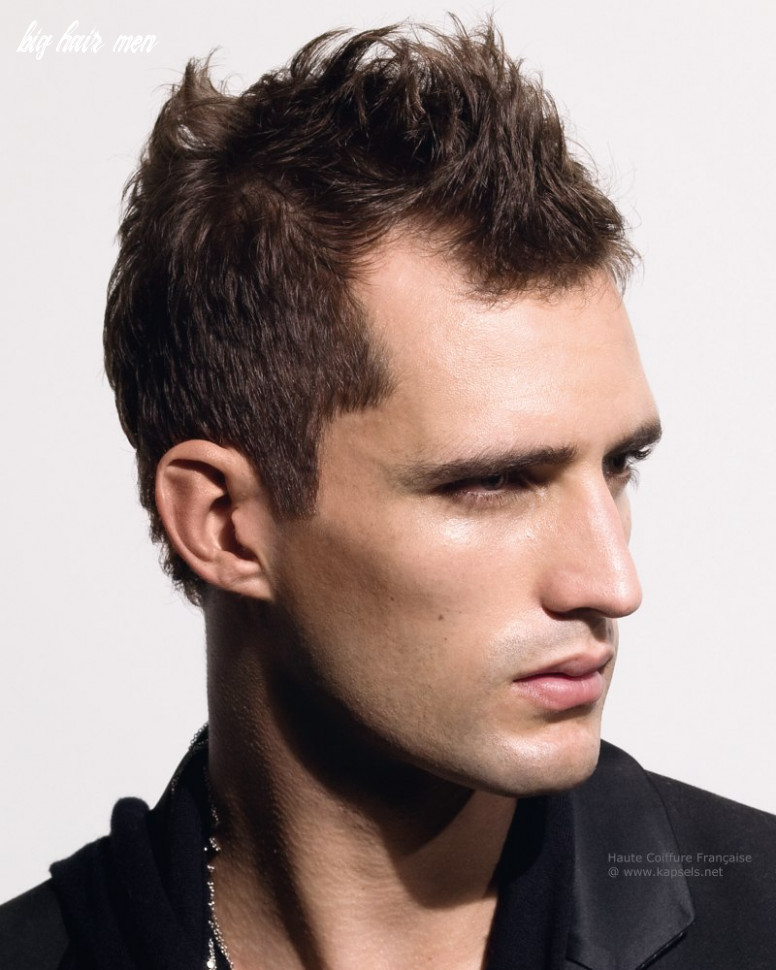 10 Best Men's Haircuts for a Big Forehead and a Round Face - Page ...