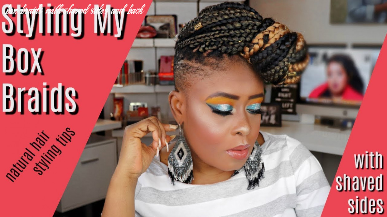 11 Exotic Braided Hairstyles with Shaved Sides for Women