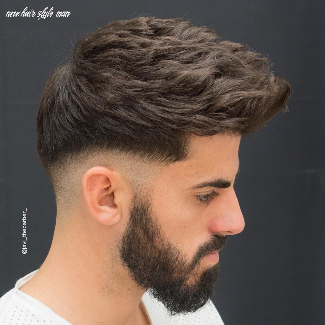 11 New Haircuts + Hairstyles For Men With Thick Hair | Low fade ...