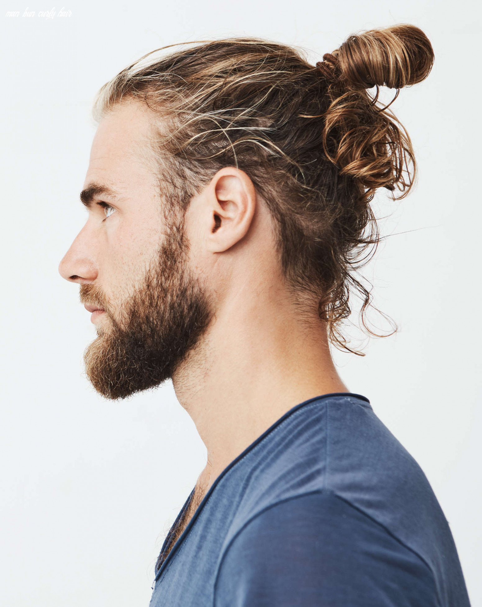 11 Types of Man Bun Hairstyles | Gallery + How To