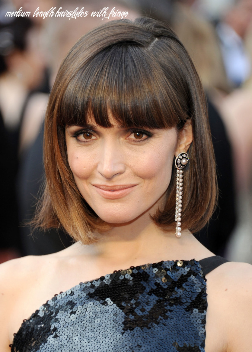 12 of the Best Hairstyles for Medium-Length Straight Hair - The ...