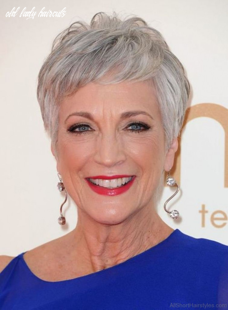 12 Short Hairstyles For Old Women