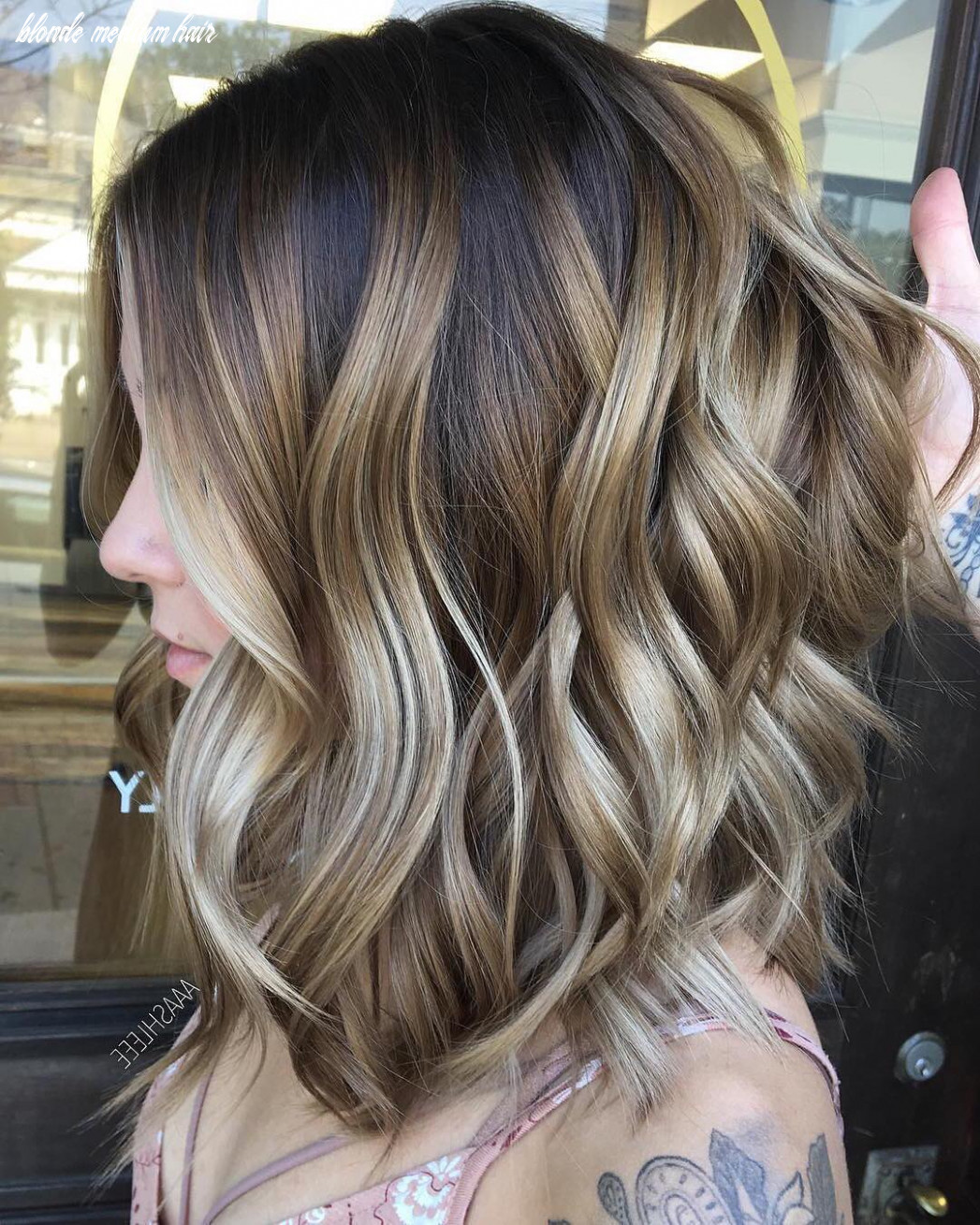 8 Ombre Balayage Hairstyles for Medium Length Hair, Hair Color 8