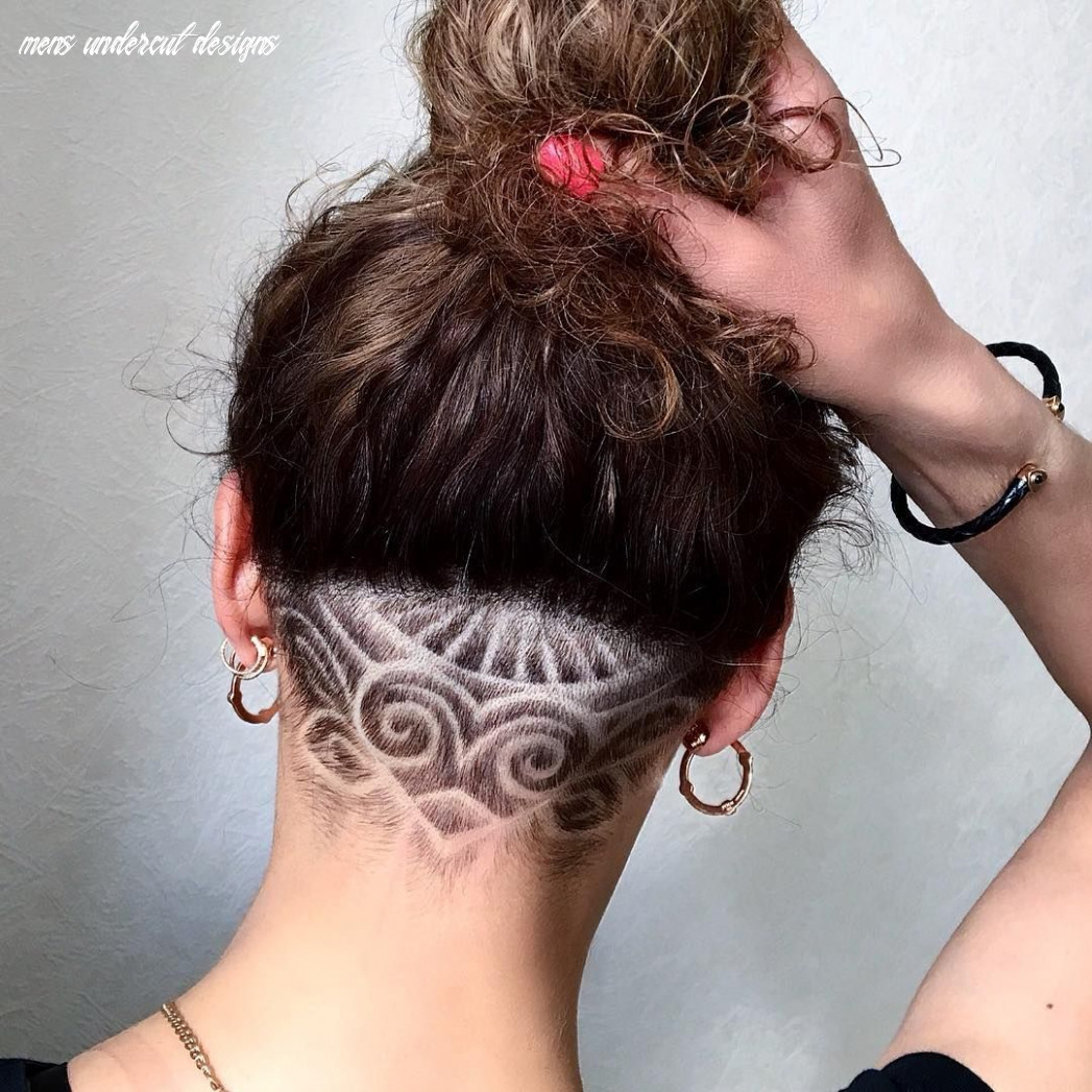 8 Phenomenal Undercut Designs For The Bold And Edgy | Shaved hair ...