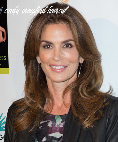 9 Cindy Crawford Hairstyles, Hair Cuts and Colors