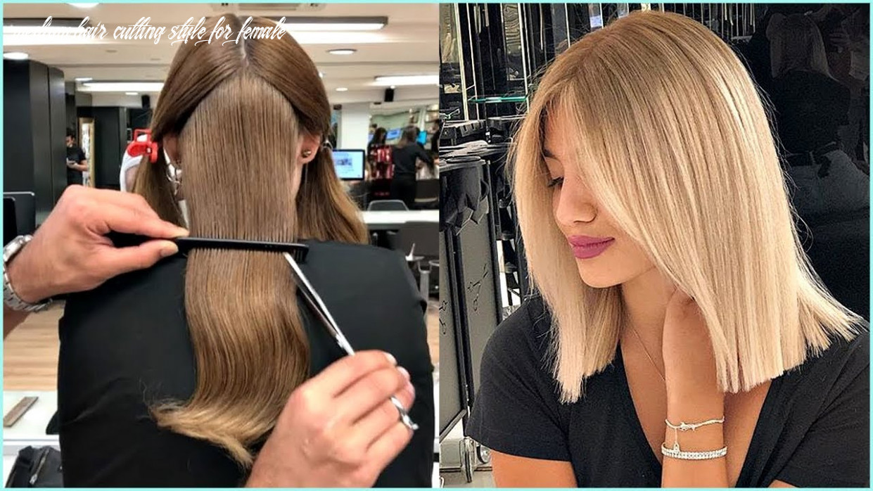 9 Short And Medium Haircuts For Women ?Haircut And Color transformation