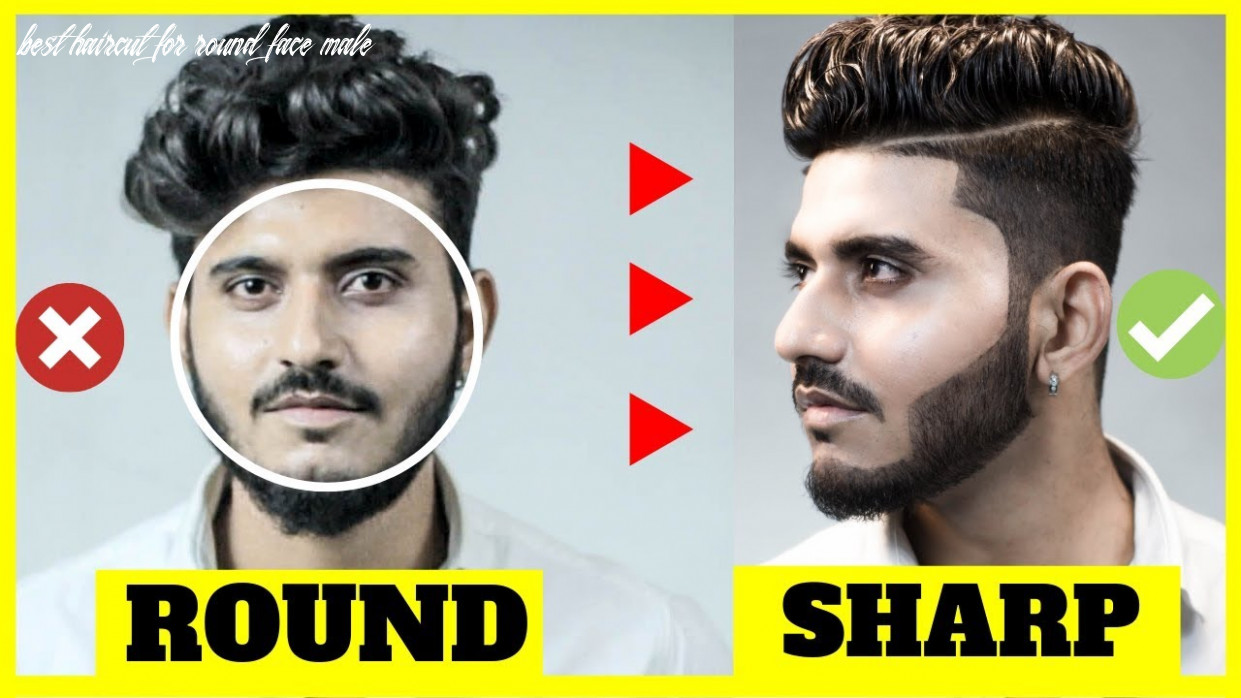 BEST Hairstyle for ROUND FACE men indian 11 | Round face hairstyles men