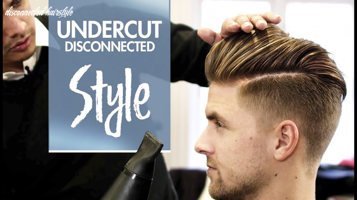 Disconnected Undercut - Men's hair & styling Inspiration - 8k hairstyle