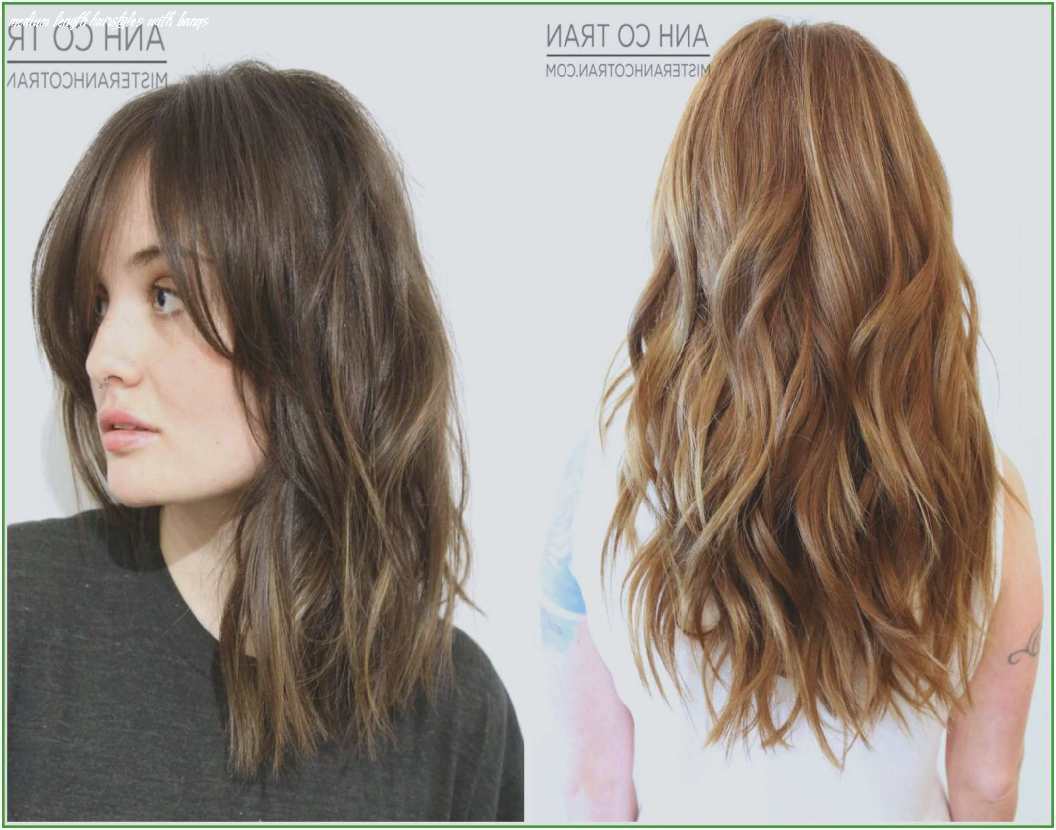 Easy Medium Length Hairstyles with Bangs New Fashion Easy ...