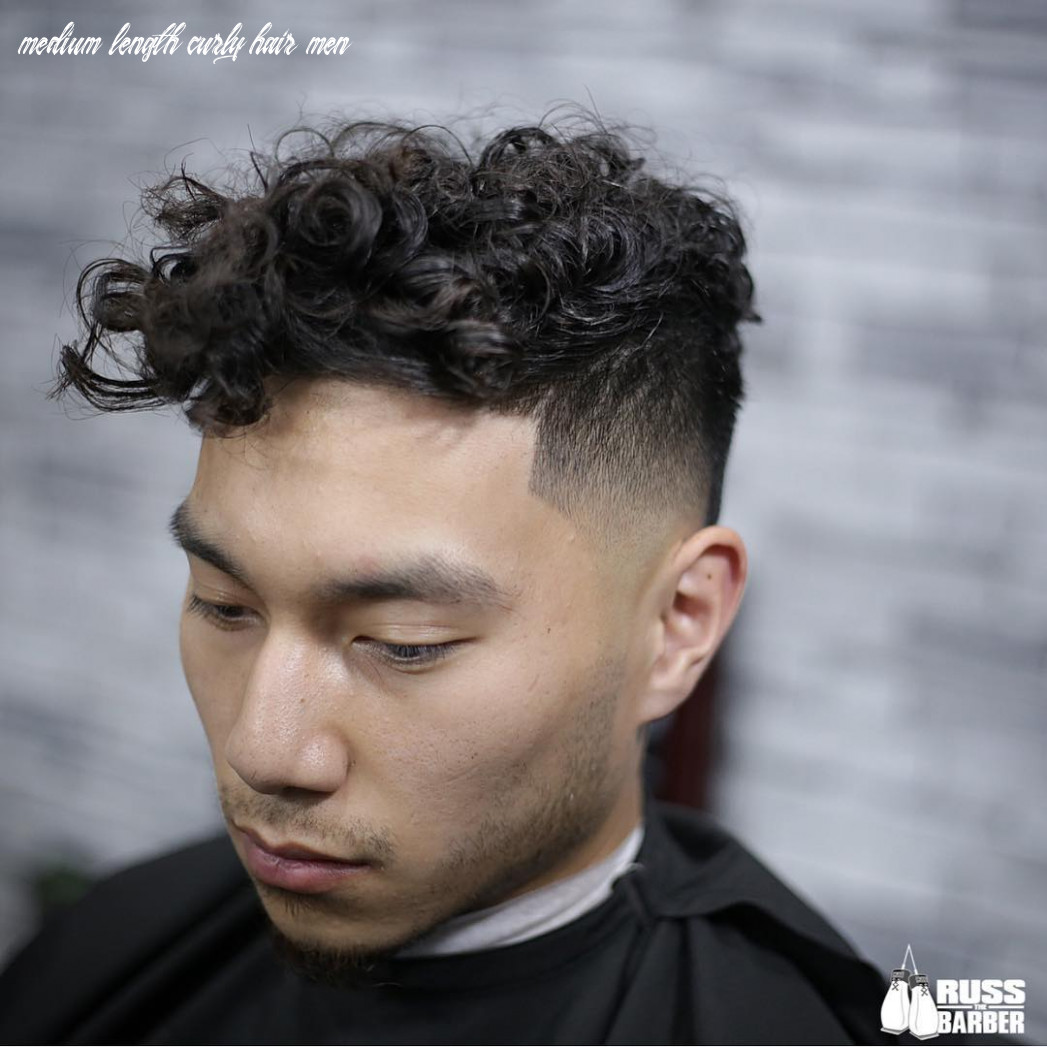 Haircuts For Men With Curly Hair Russ_thebarber Haircuts For Curly ...