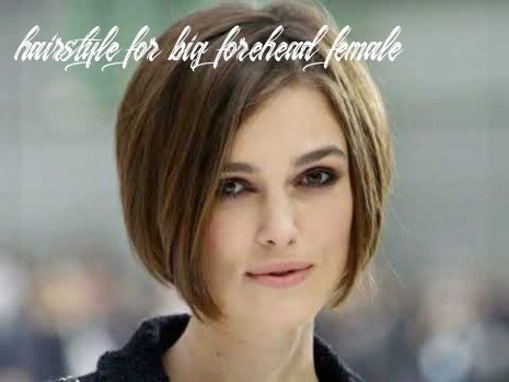 Hairstyles Women For Short Hair And Big Forehead - YouTube