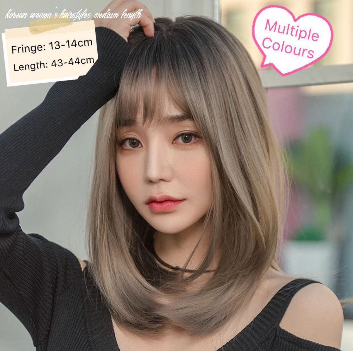 Korean Shoulder Length Hair   Find your Perfect Hair Style