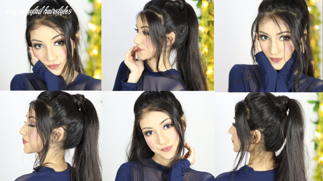 New Easy Ponytail Hairstyle For Party or Wedding | Long Ponytail Hairstyles