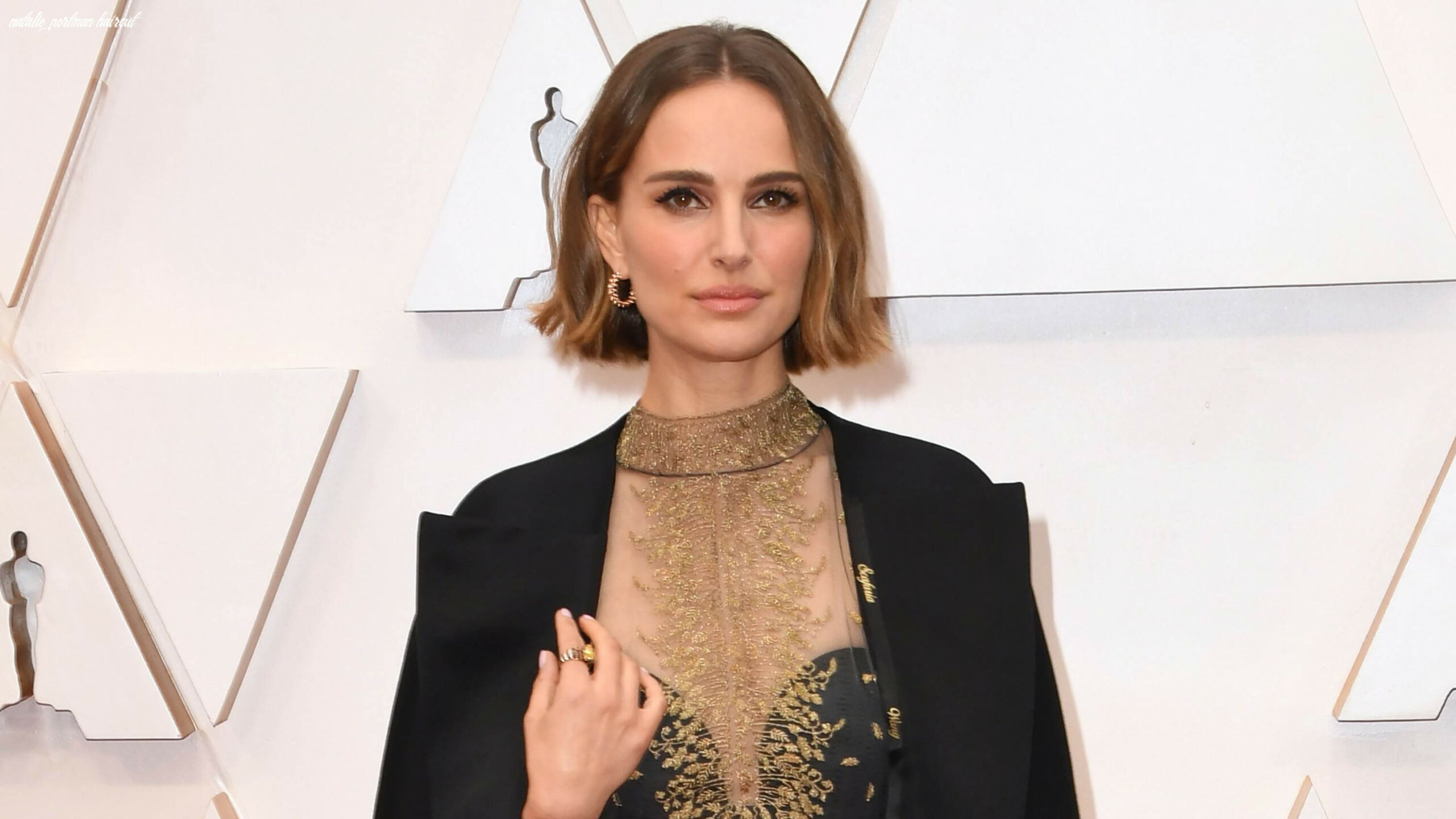 Oscars 11: Natalie Portman Debuted a New Bob Trend on the Red ...