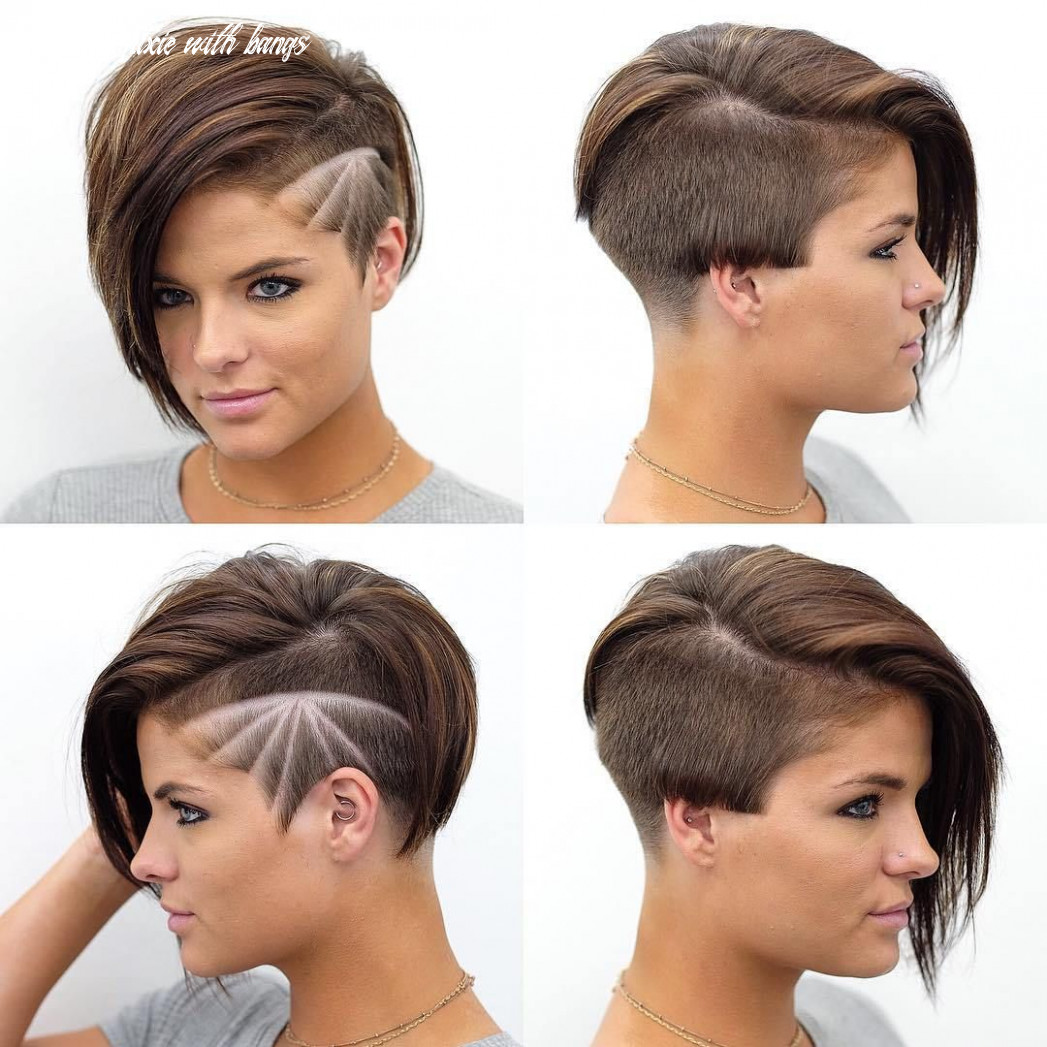 Pixie Haircuts with Bangs - 8 Terrific Tapers | Undercut ...