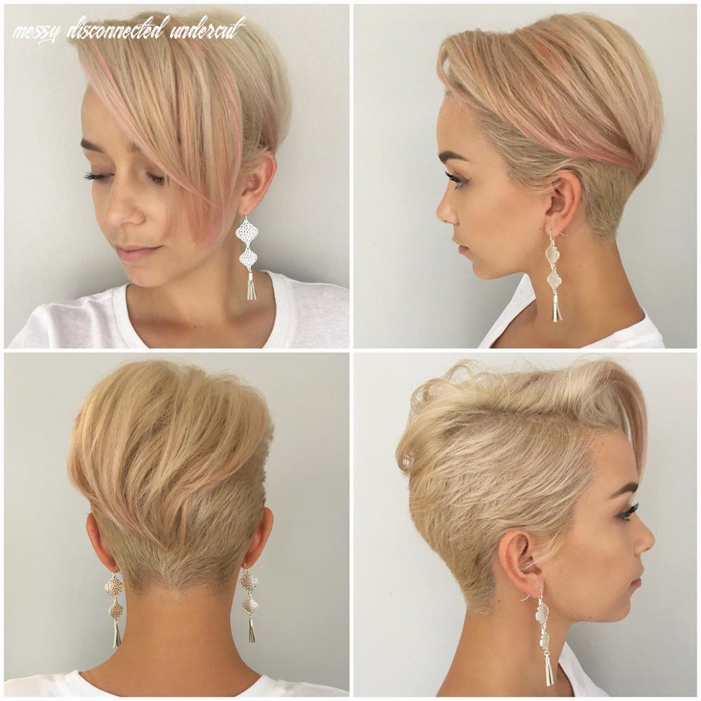Platinum Disconnected Undercut Pixie with Messy Straight T… | Flickr