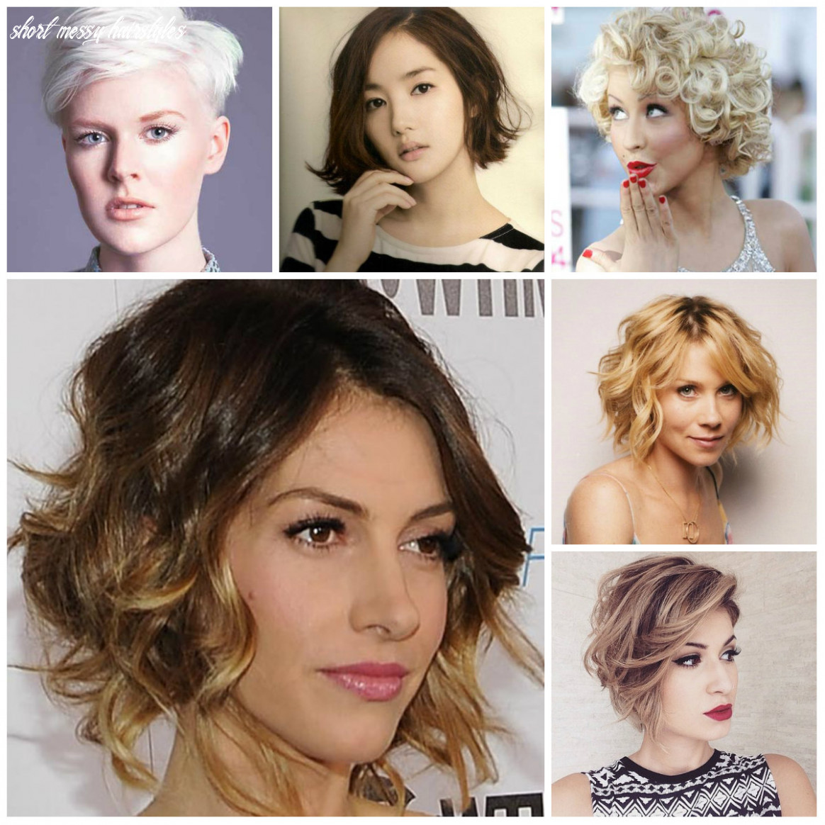 Short Messy Hairstyle Inspiration for 11   11 Haircuts ...