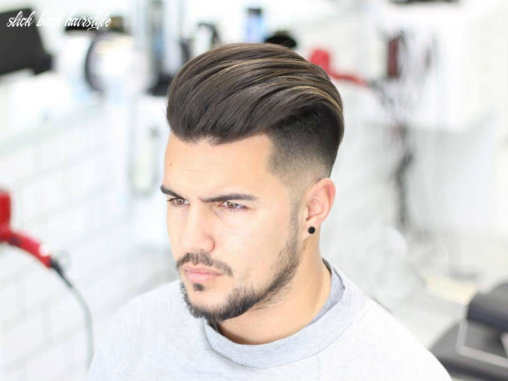 slick back hairstyle 9 – HairstyleCamp
