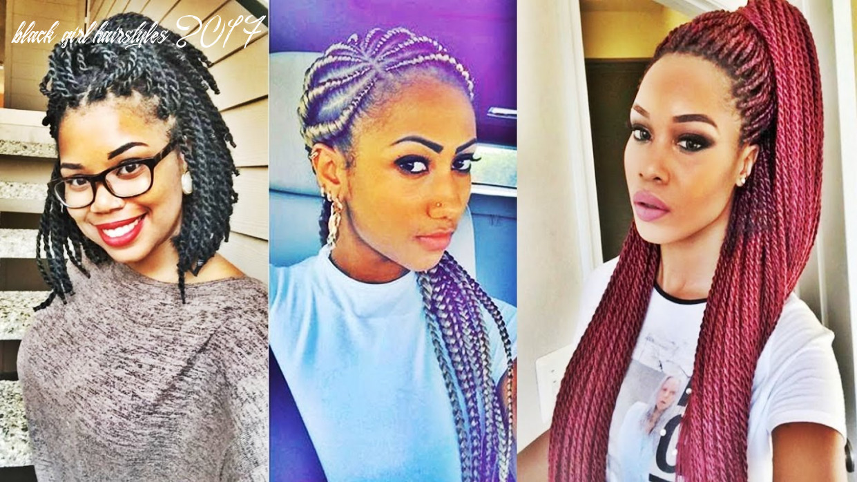 Super Hot Black Braided Hairstyles For Black Women 9 - YouTube
