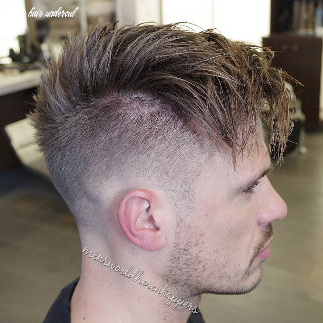 Top 9 Undercut Haircuts + Hairstyles For Men (9 Update)