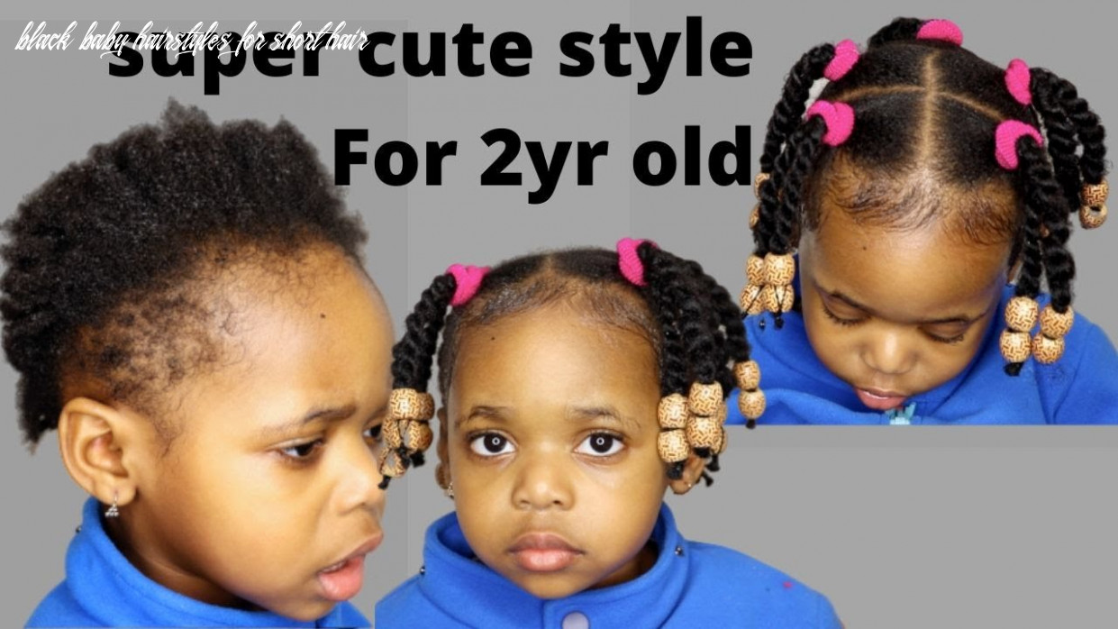 Try this protective hairstyles for short natural hair│11year old kid/  toddler/ black kid| LITTLE GIRL