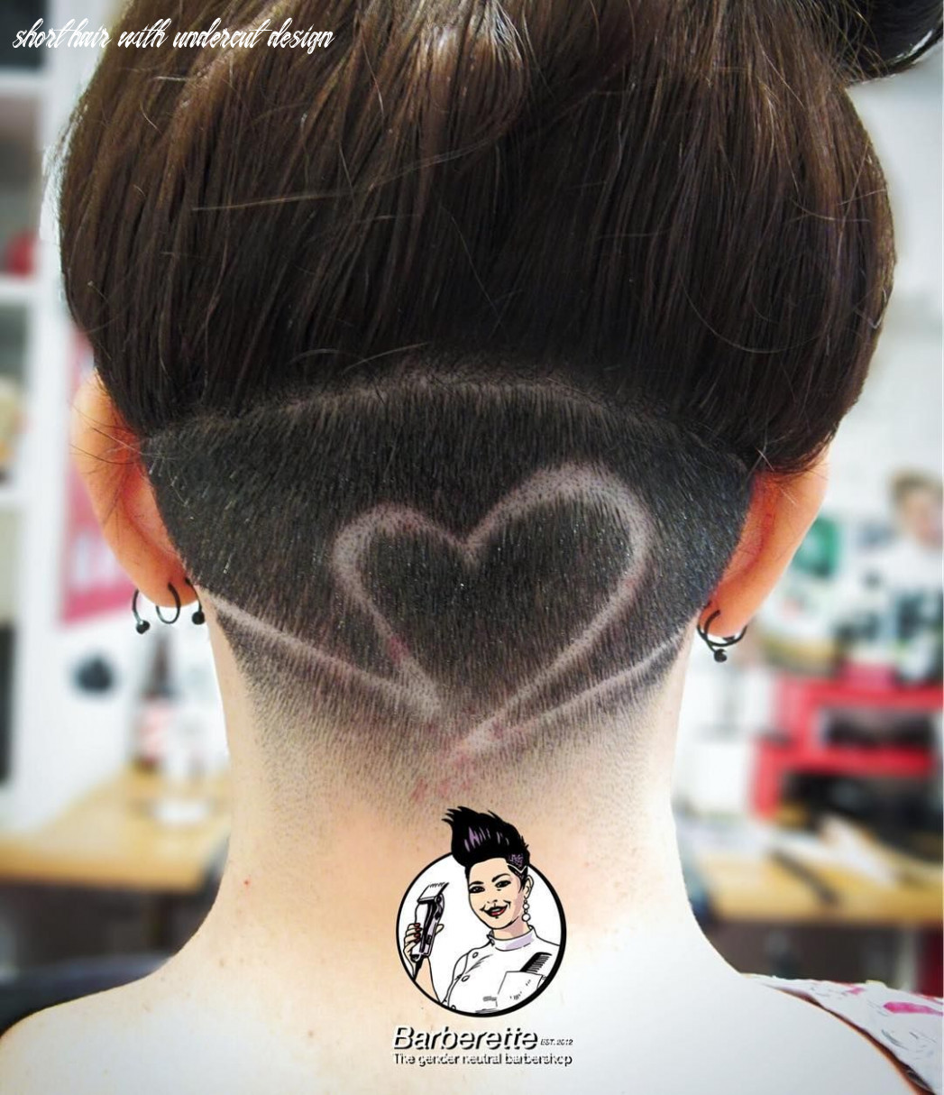 Undercut design with fade by Rose ❤️ #dontpayextraforyourgender ...