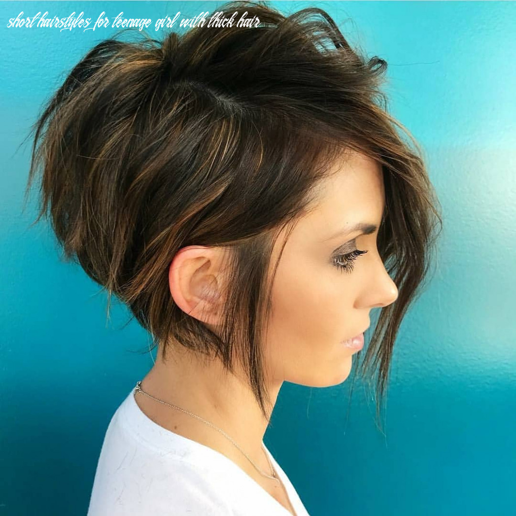 10 Cute Short Hairstyles and Haircuts for Young Girls, Short Hair 10