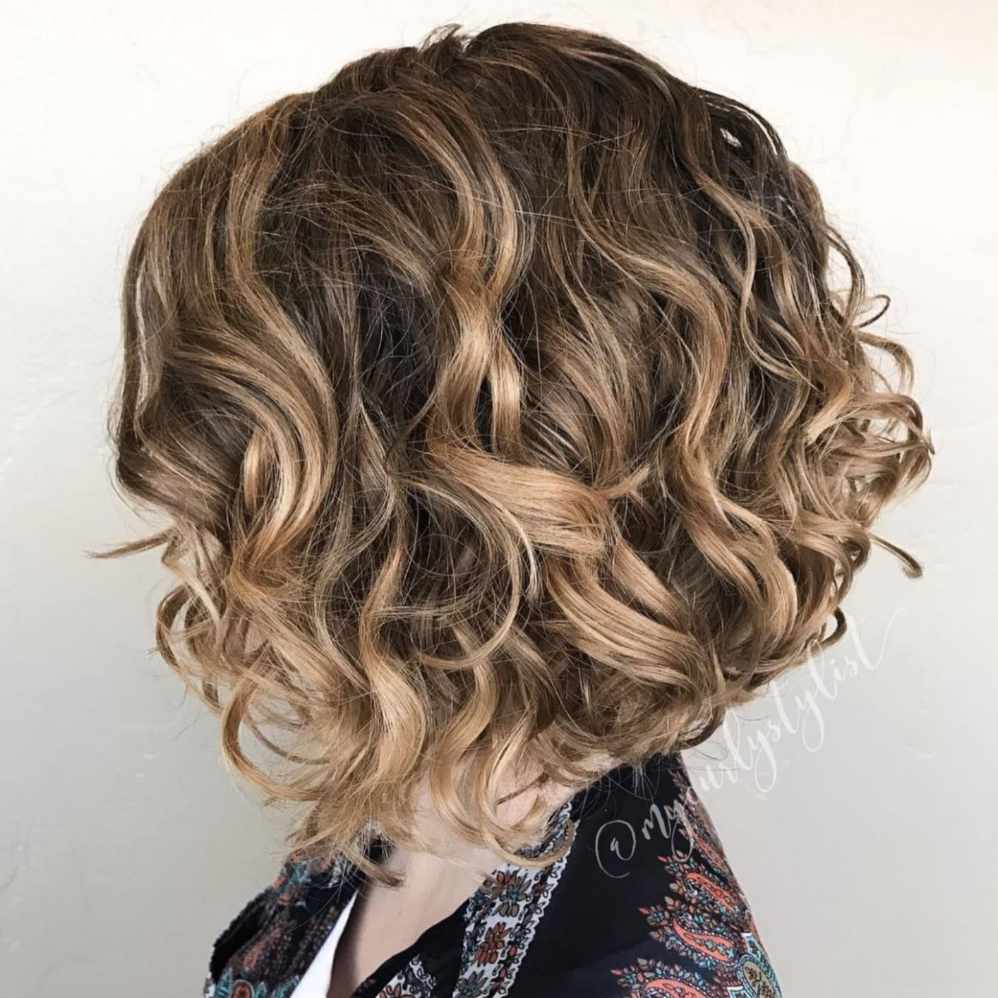 10 Different Versions of Curly Bob Hairstyle in 10   Curly bob ...