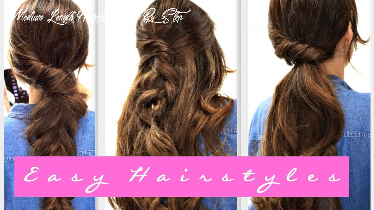 10 EASY Lazy HAIRSTYLES | Fall Hairstyle for Medium + LONG HAIR