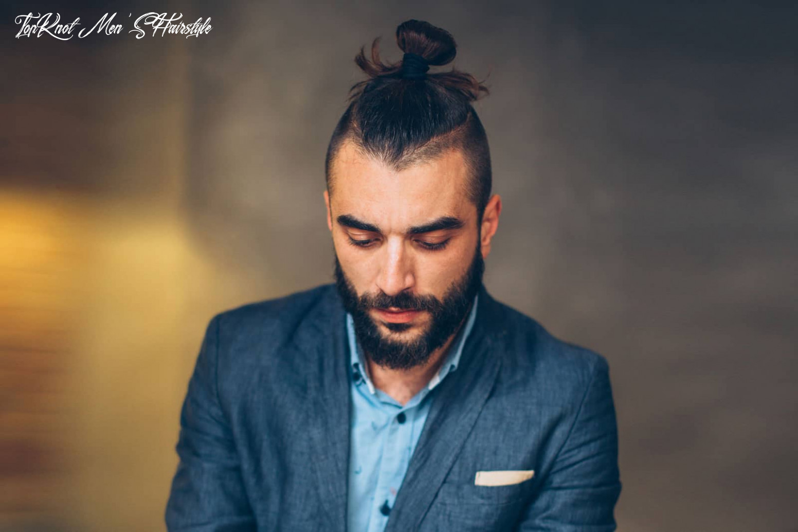 10 Men's Top Knot Haircut Ideas That You Need To Try! | Outsons ...