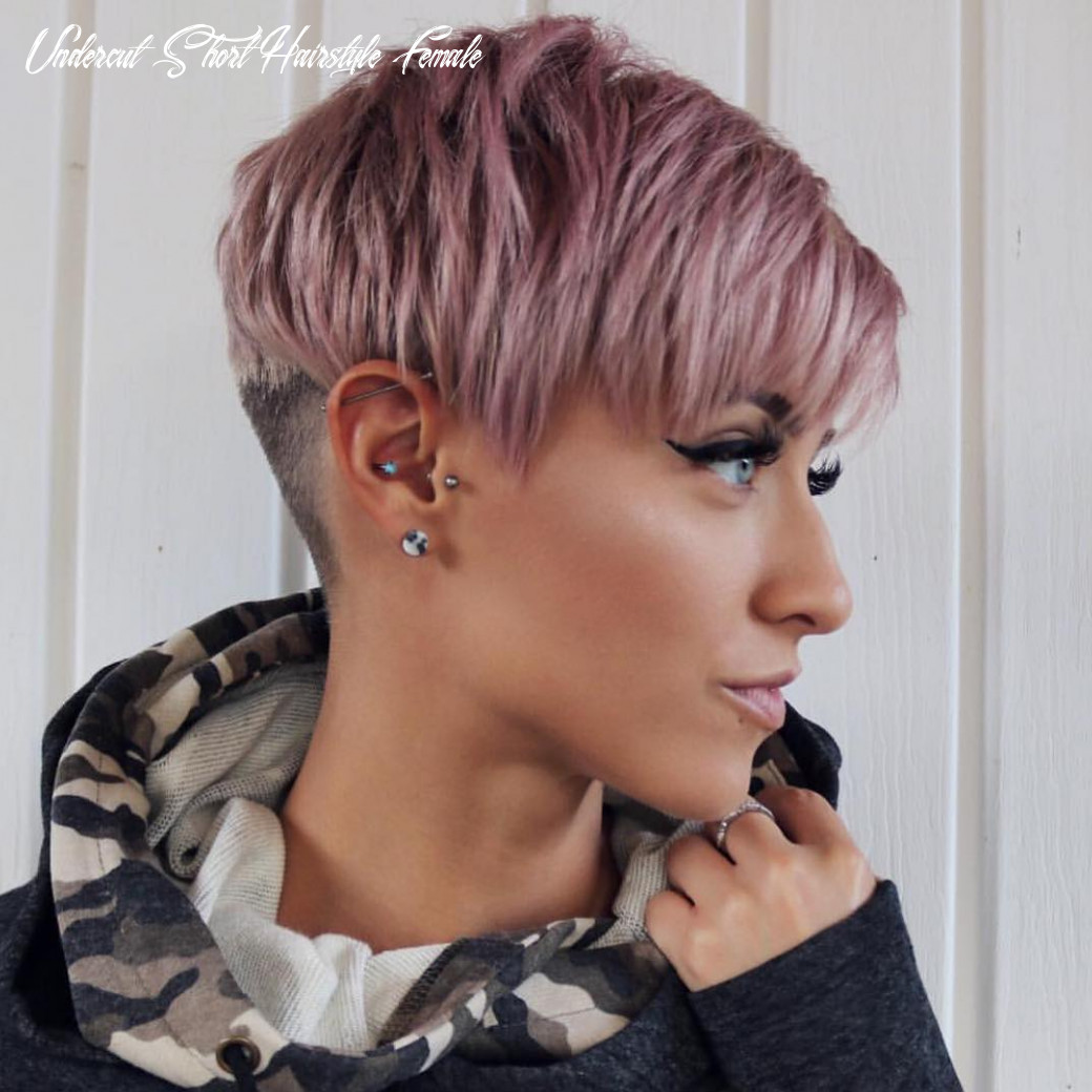 10 Trendy Very Short Haircuts for Female, Cool Short Hair Styles 10