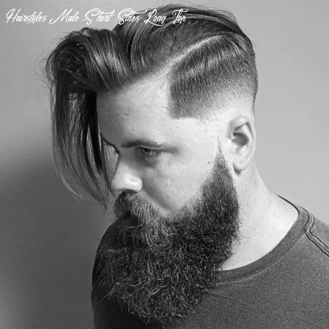 11 Creative Short On Sides Long On Top Haircuts - [11 Ideas]