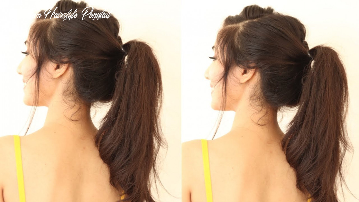 11 Different Ponytail Hairstyles For Black Hair   ponytail Hairstyles For  Short Hair or Medium hair