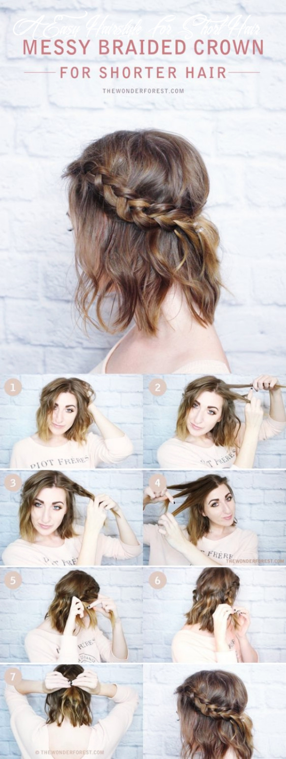 12 Easy Hairstyles (No Haircuts) for Women with Short Hair - How ...