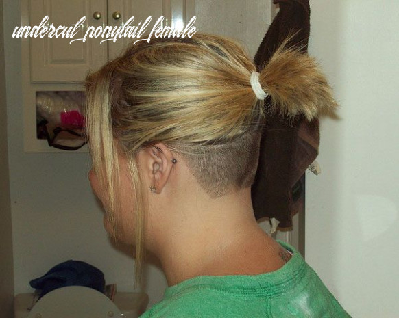 8 Glamorous Shaved Hairstyles For Women - SloDive | Undercut ...