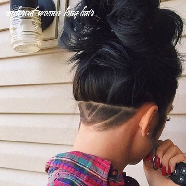 8 Most Badass Shaved Hairstyles for Women | Hair styles, Undercut ...