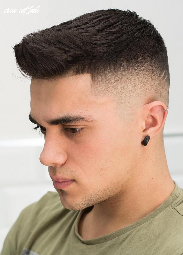 9 Crew Cut Hairstyles that Will Give You the Edge