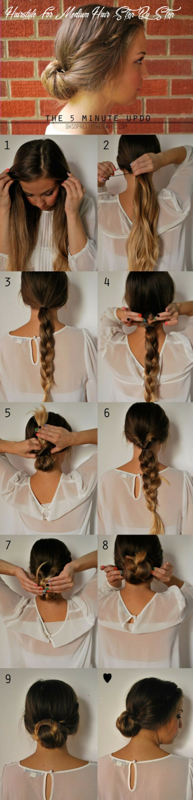 9 Cute hairstyles: Step-by-Step Hairstyles for Long Hair ...