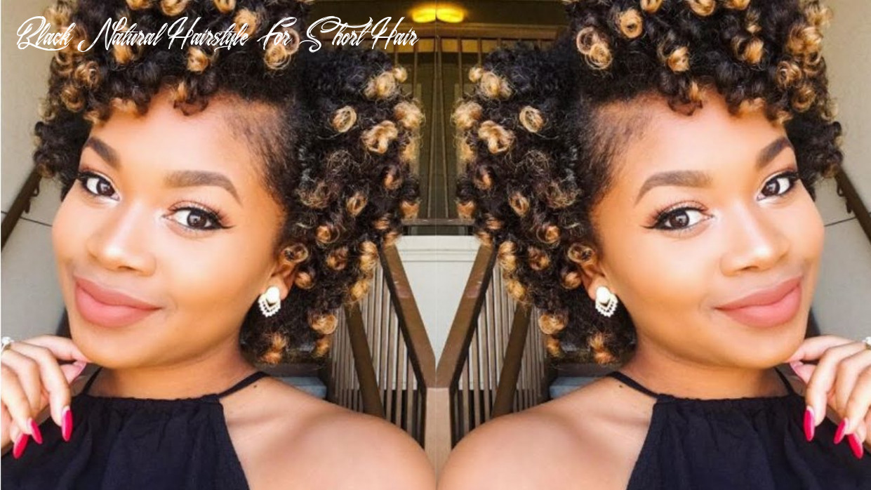 9 Short Natural Hairstyles for Black Women