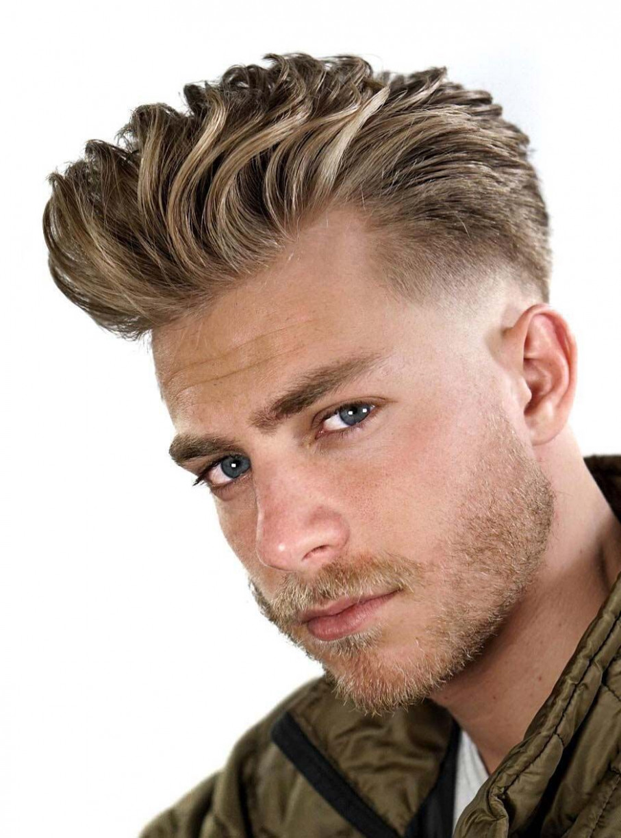 Best 8 Blonde Hairstyles for Men to try in 8 | Cool hairstyles ...