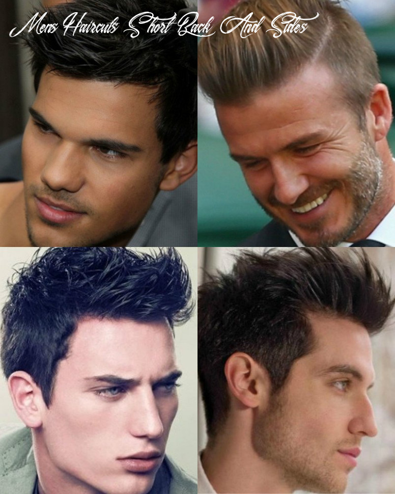 Best Men's Short Back And Sides Hairstyles - AtoZ Hairstyles