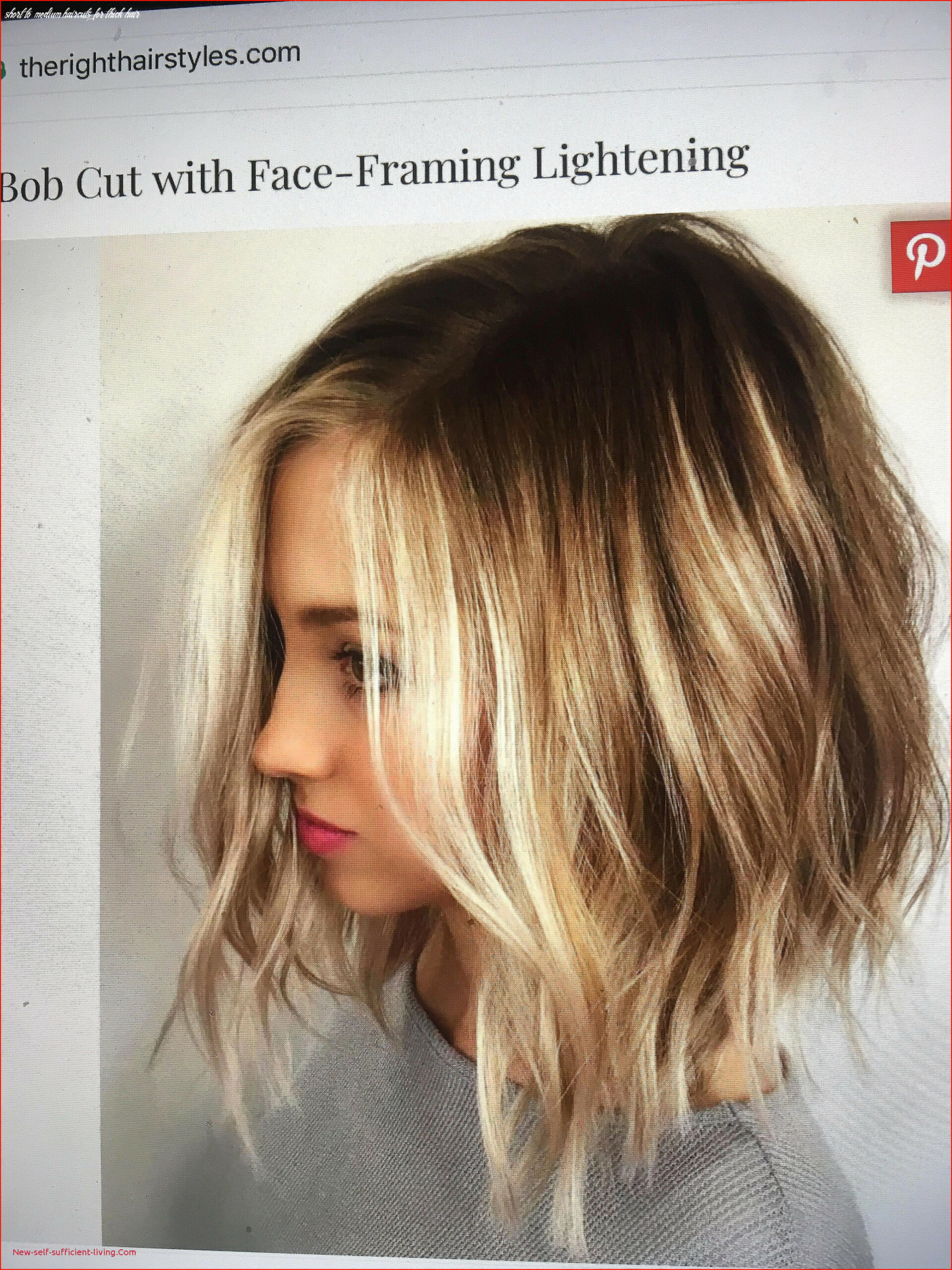 Best Short Length Hairstyles for Thick Hair Picture Of Short ...