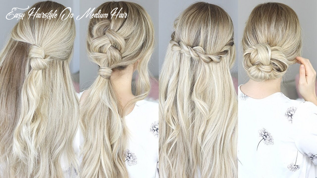 EASY HAIRSTYLES FOR SPRING! Perfect for Medium Hair and Long Hair