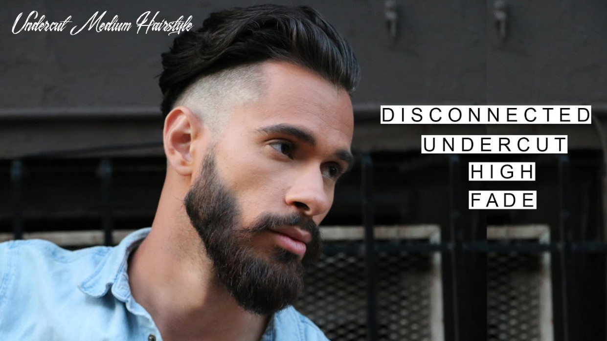 GQ Inspired Disconnected Undercut /w High Fade | Medium Length Hairstyles |  Summer Hairstyles 11