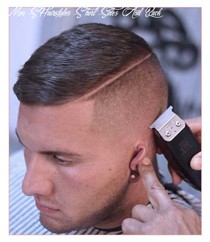 Great Style 11+ Mens Haircut Short Sides Long Top And Back