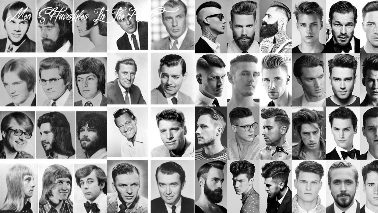 How men's hairstyles evolved in the past 8 years ~ Wikye