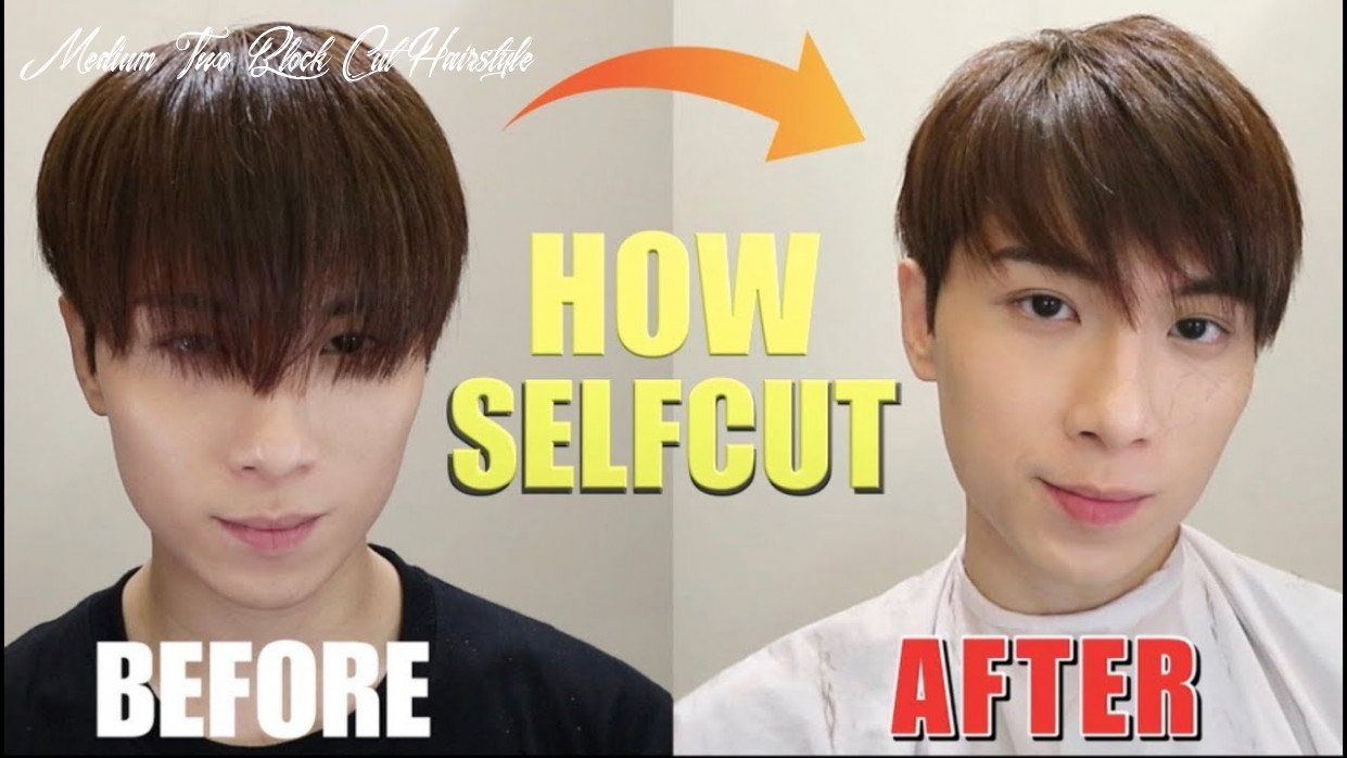 How To cut The Top With Twoblock cut | ISSAC YIU